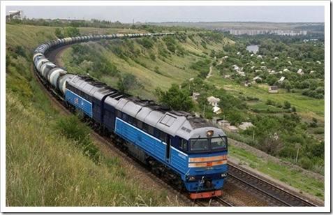 Отправка груза по железной дороге