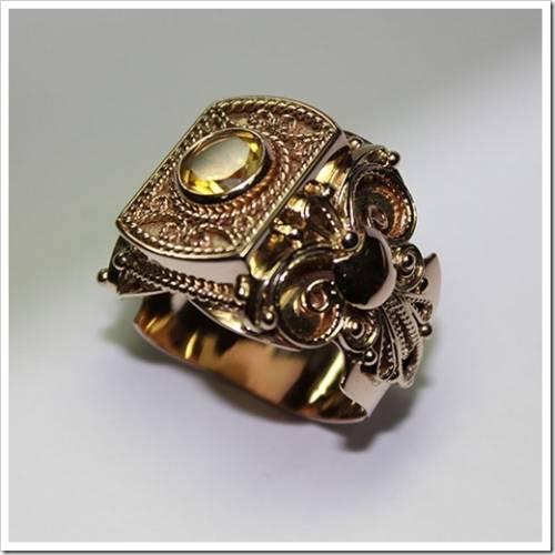 С чем носить мужские кольца?