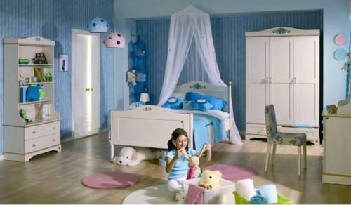 Цвет обоев в комнату для детей