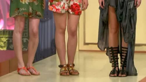 С чем носить сандалии