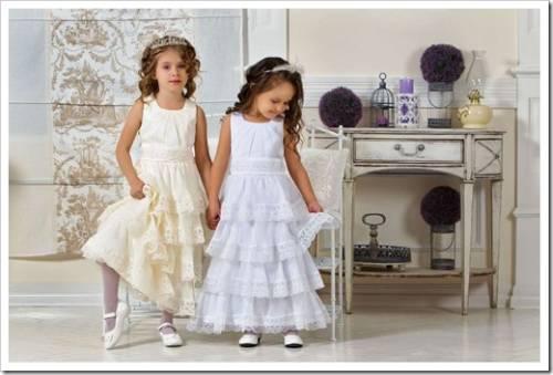 Модная детская одежда для девочек весна-лето 2016