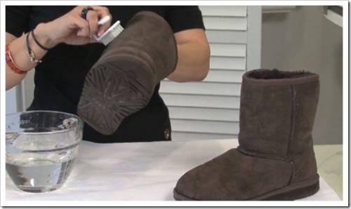Защита обуви от грязи
