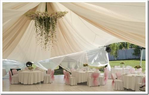 Организация свадьбы в шатре