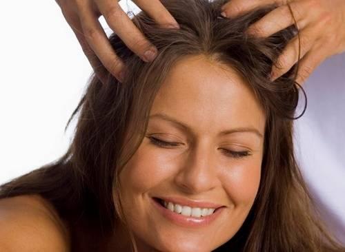 Как втирать соль в волосы