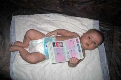 Детский загранпаспорт оформляем