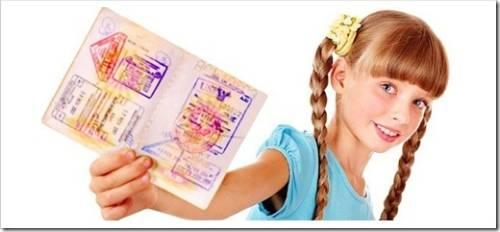 Что необходимо для инициализации процесса получения заграничного паспорта для ребёнка?