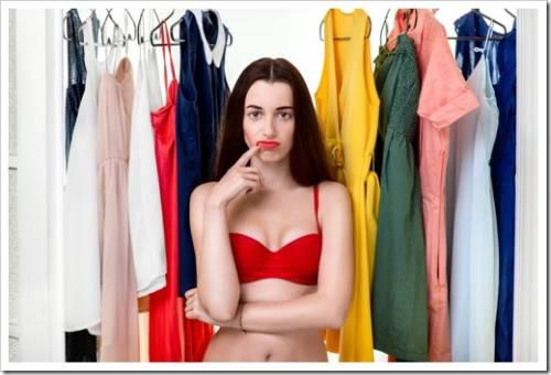 Ошибки в подборе  женской одежды