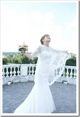 Головной убор как аксессуар невесты