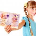 Как оформить детский загранпаспорт