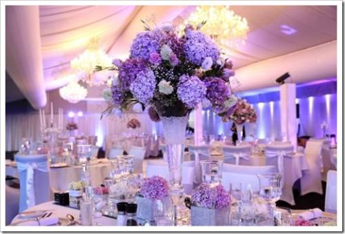 Варианты оформления зала для свадебного торжества