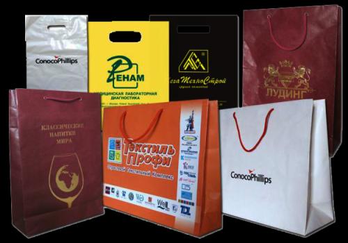 Виды печати на пакетах