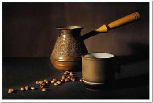 Как сварить кофе в турке с пенкой?