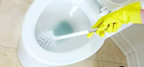 Чем чистить унитаз от мочевого камня