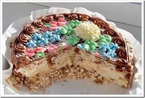 Как приготовить киевский торт?