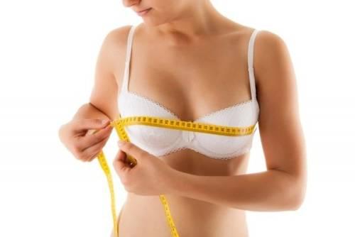 Как определить размер груди?