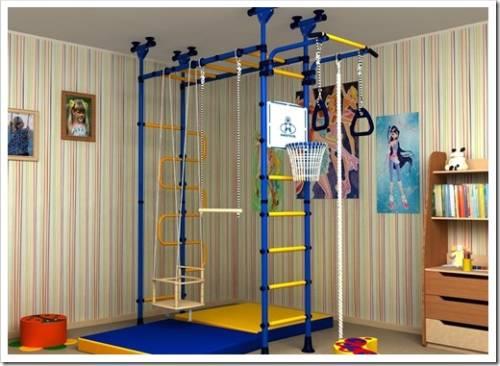 Шведская стенка для ребенка: упражнения
