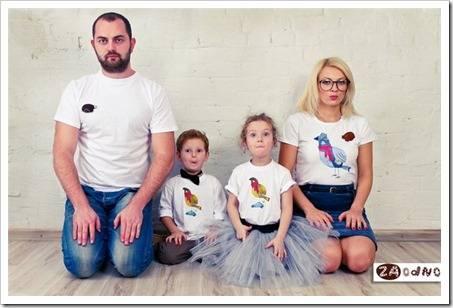 Что такое одежда family look?