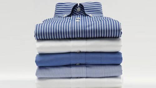 Как сложить рубашку, чтобы не помялась