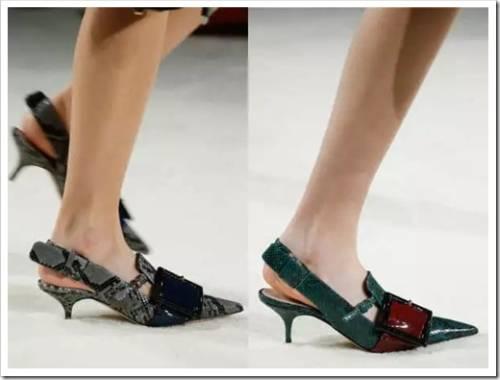 Модные материалы для обуви