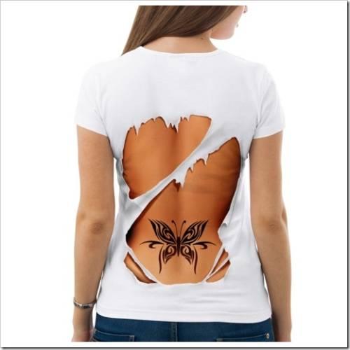Женские футболки с принтами