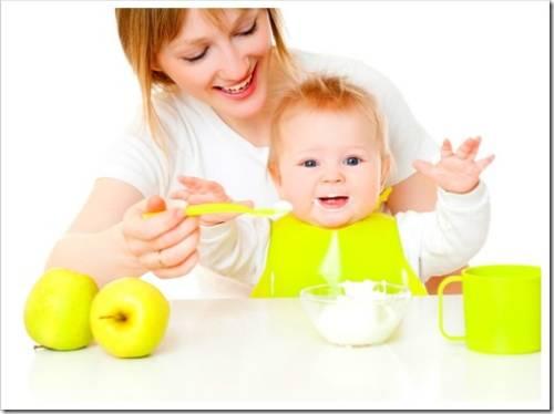 Здоровое питание малыша: качественные продукты для прикорма