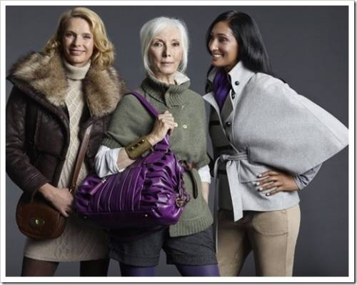 Зрелый возраст – выбираем одежду