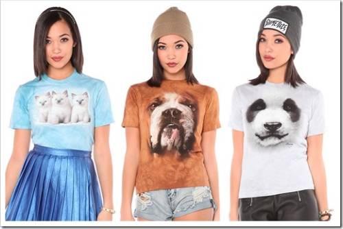 Яркие футболки с принтом для девушек и женщин