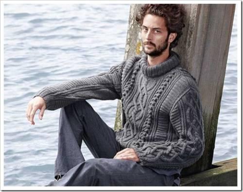 Мужской свитер может быть удобным и стильным