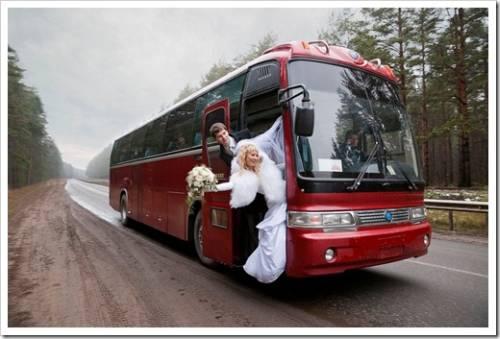 Из каких автомобилей состоит свадебный кортеж?