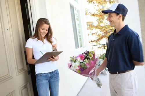 как доставить цветы