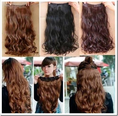 Как выполняется крепление волос?