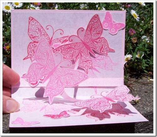 Различные техники для создания открыток