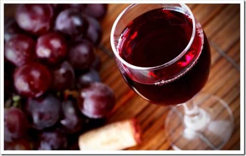 Красное вино защищает от рака