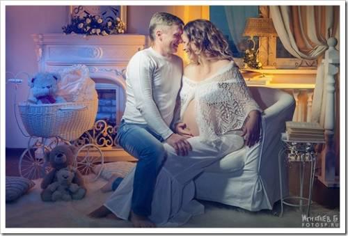 Памятная фотосессия для беременных