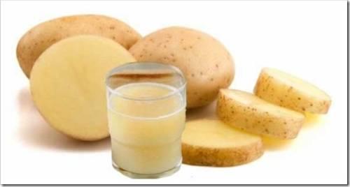 Преимущества картофельного сока