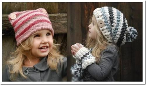 Важные элементы гардероба любой девочки - головные уборы