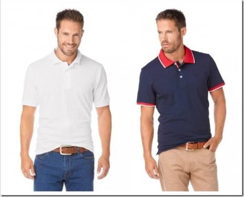 Комплекты, в которых уместна рубашка-поло