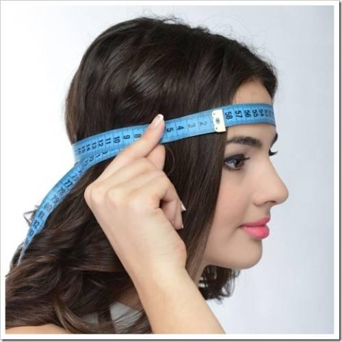 Два способа измерить размер шапки