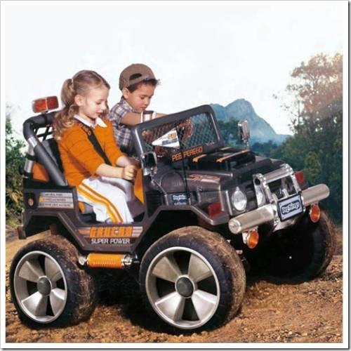 Почему детский электромобиль заслуживает быть подароком на день рождения?