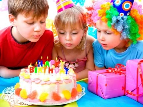 Как развлечь детей на день рождения