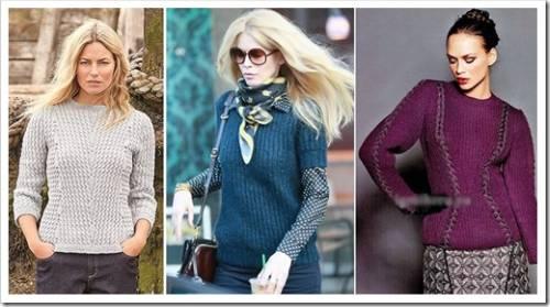 Деловой свитер