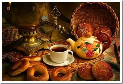 Чайные посиделки по-русски