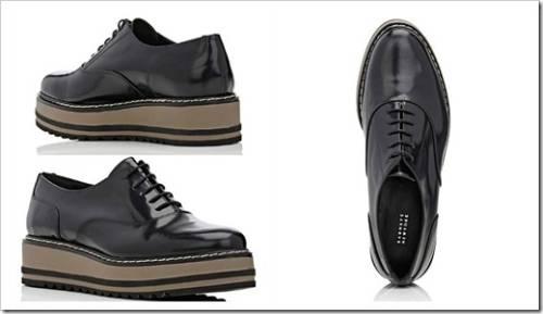 Ботинки на шнуровке в сочетании с платьями