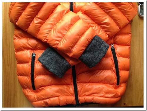 Как удлинить рукава на детской куртке?