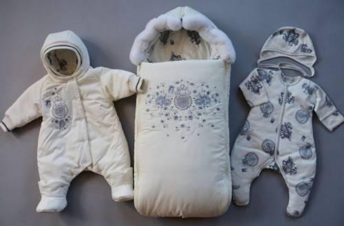 Что одевать новорожденному зимой под конверт