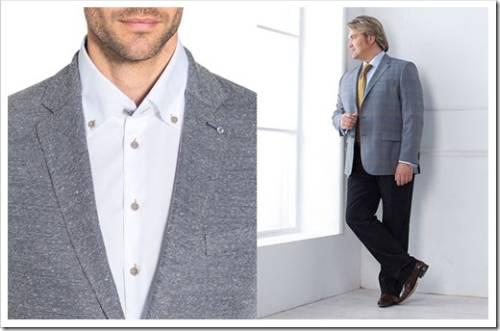Как выбрать рубашку для полного мужчины