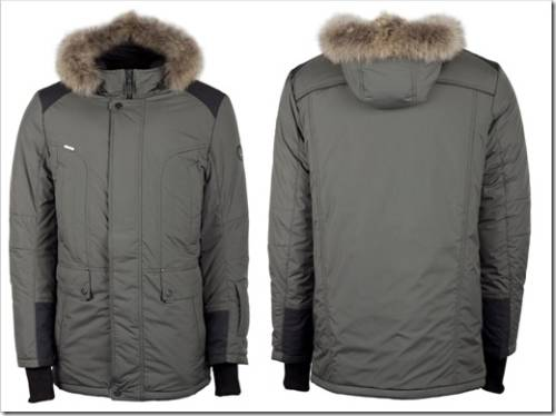 Мужская куртка с климат-контролем