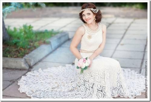 Свадебная фотосессия: платье идёт вразнос