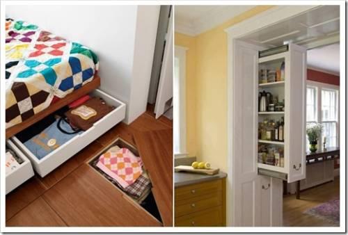 Правила организации систем хранения в доме