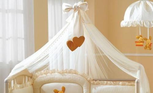 Как сшить балдахин на кроватку